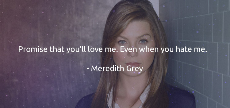 grey's anatomy quotes meredith grey
