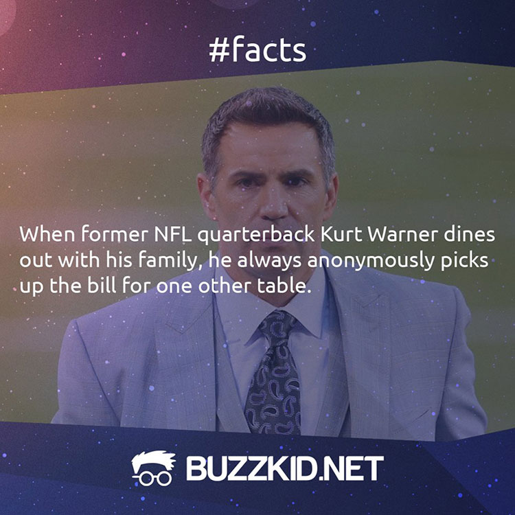 NFL quarterback Kurt Warner