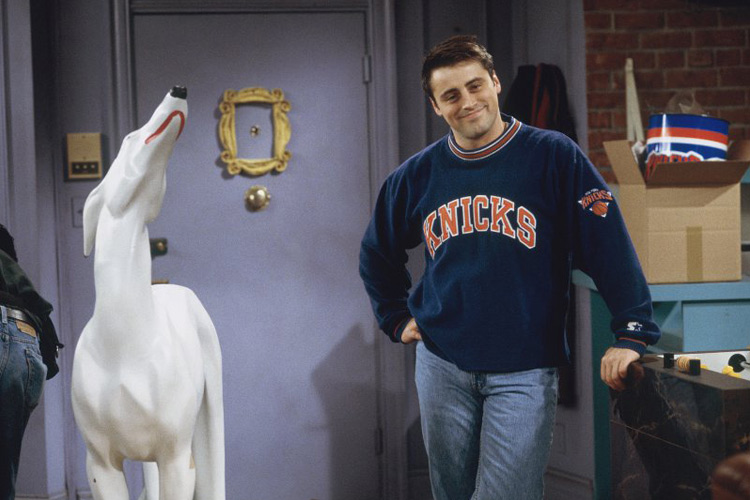 friends facts joey and dog