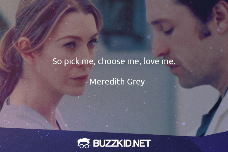 grey's anatomy meredith grey love quotes