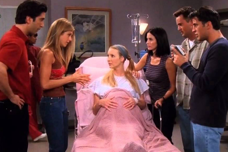 friends facts pregnant phoebe