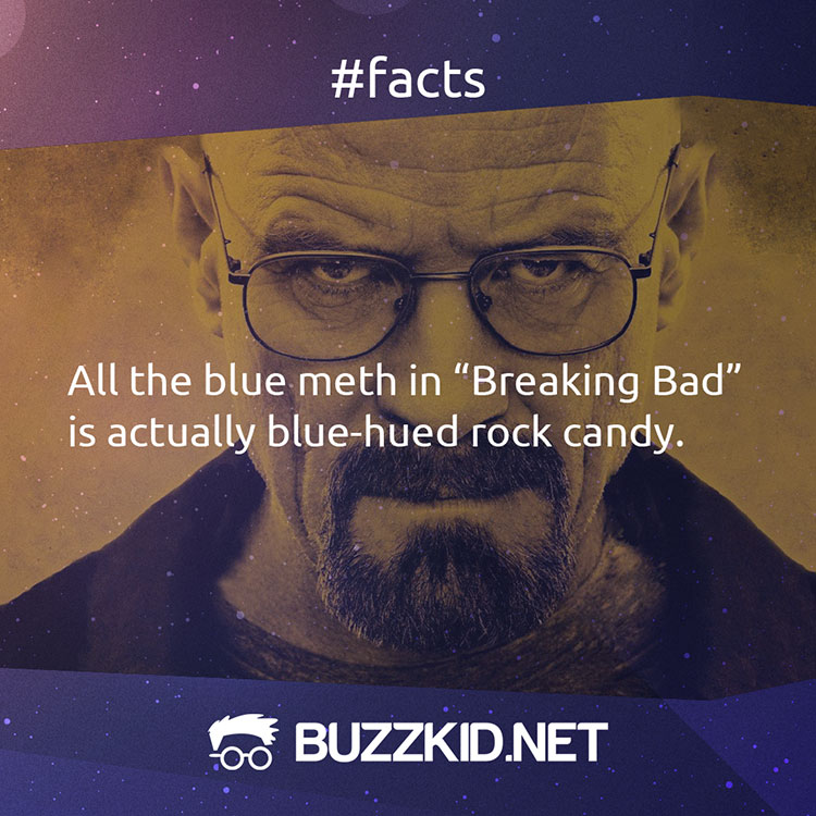 all the blue meth in Breaking Bad is candy