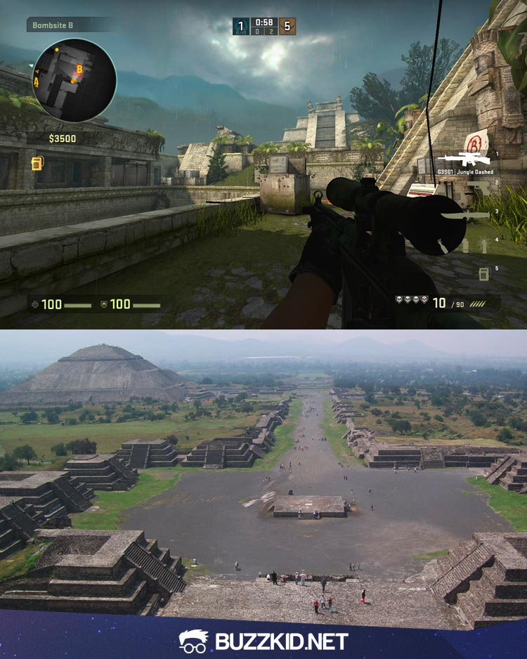 de_aztec map in real life