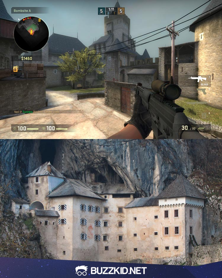 Life Spelled In Cobble : Cs go maps in real life
