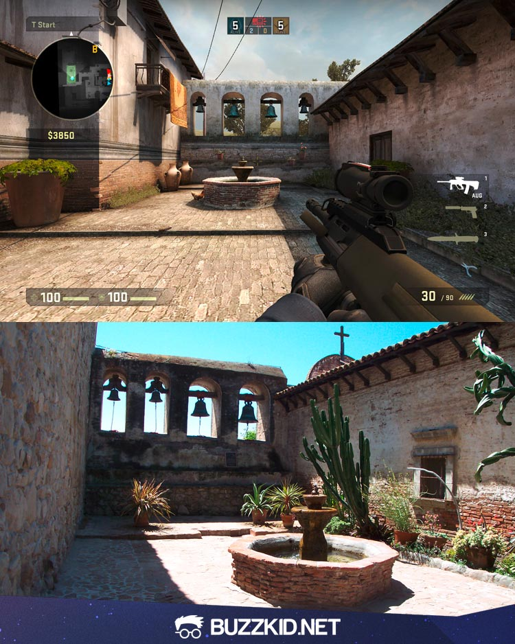 de_inferno map in real life