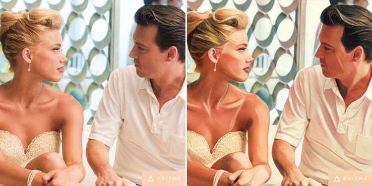 The Rum Diary movie scene edited by Prisma app