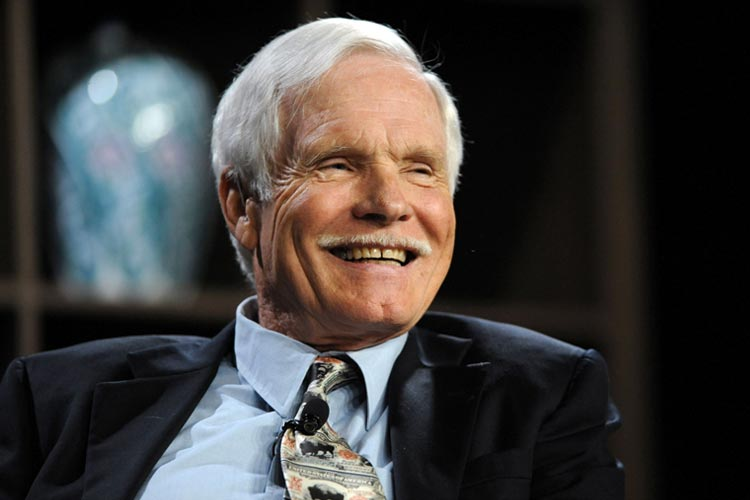 Ted Turner rejected by Harvard University